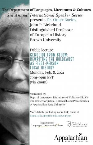 3rd Annual International Speaker Event Poster
