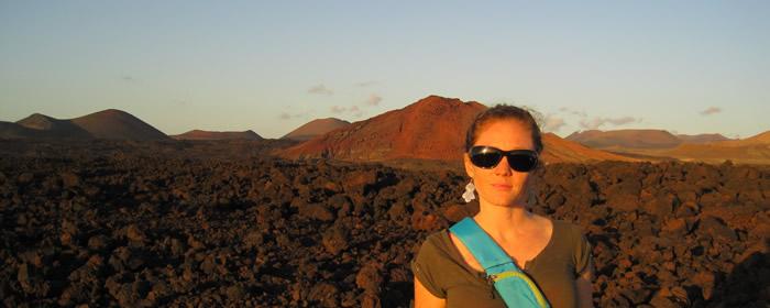 Laura in Lanzarote